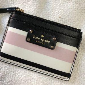 Kate Spade Adi Grove Street Classic Stripe Wallet